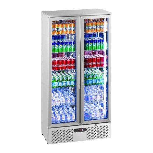 B-WARE Getränkekühlschrank - 458 l - Edelstahl