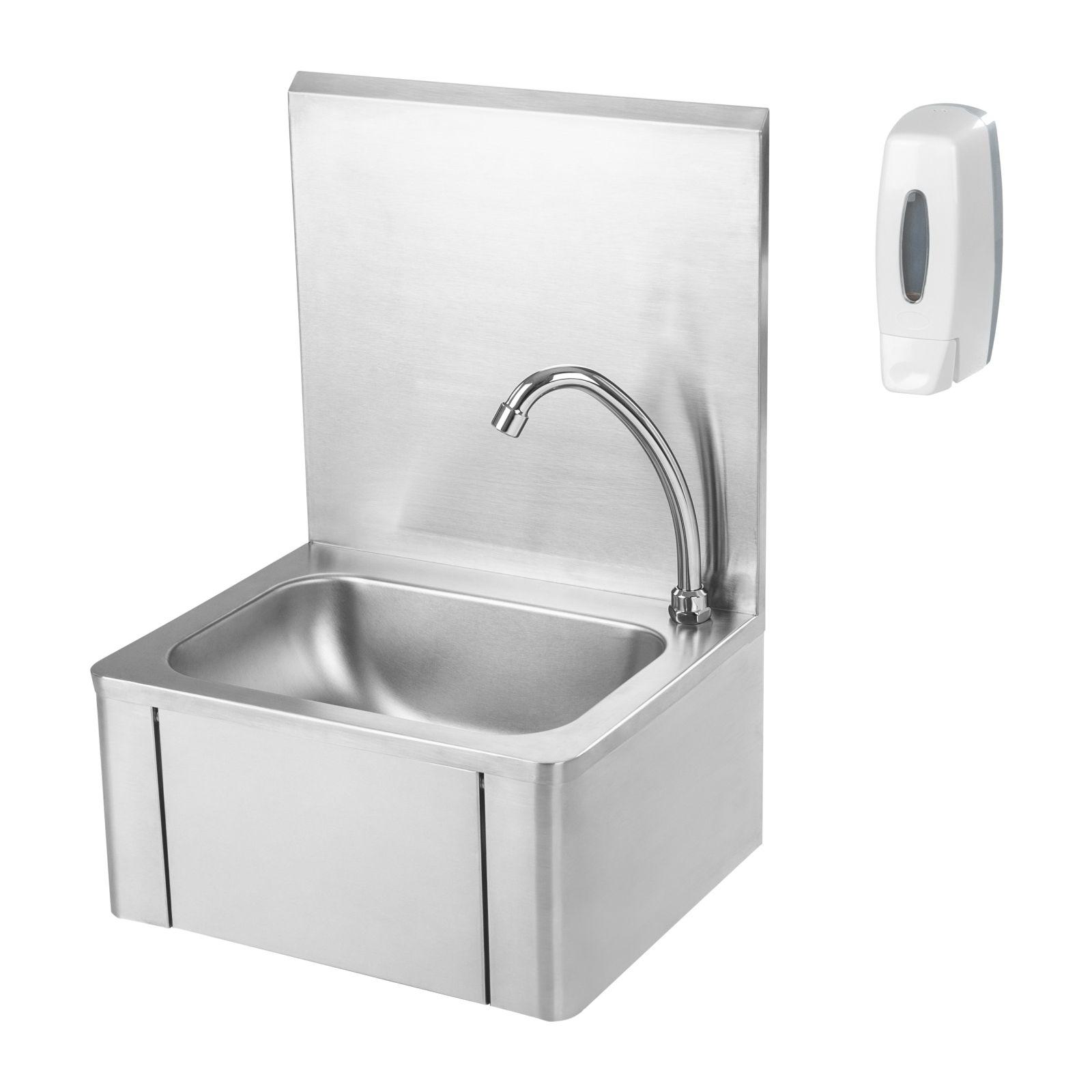 Knie Kontakt Handwaschbecken Mit Seifenspender