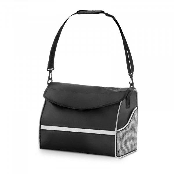 B-Ware Rollatortasche - schwarz/silber - groß