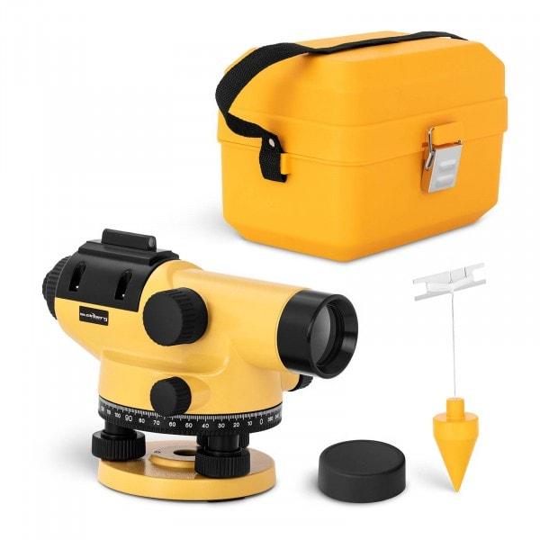 Nivelliergerät - 32-fache Vergrößerung - 38-mm-Objektiv - Abweichung 1 mm - magnetischer Kompensator