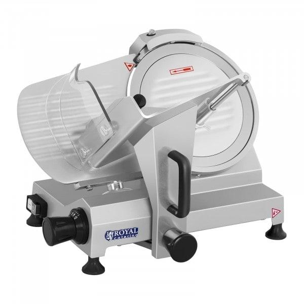 Aufschnittmaschine - 250 mm - bis 12 mm - 150 W