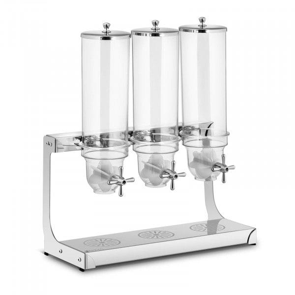 Müslispender - 3 x 3,5 l - 3 Behälter