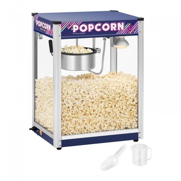 Popcornmaschine - blau - 8 oz