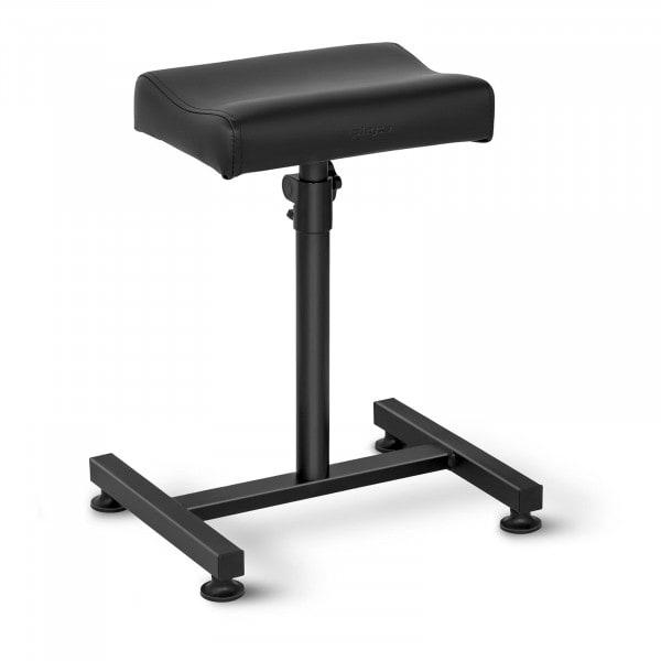 Beinauflage Fußpflege - schwarz- 24 x 33 cm