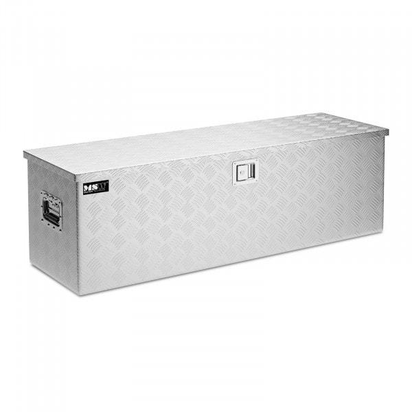 Alubox Riffelblech - 124 x 38 x 38 cm - 150 L