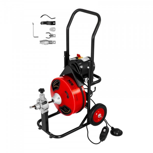 Trommel Rohrreinigungsmaschine - 390 W - Ø 25 bis 125 mm