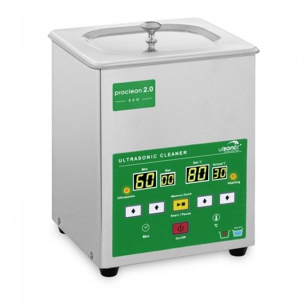 Ultraschallreiniger - 2 Liter - 60 W - Memory Quick Eco