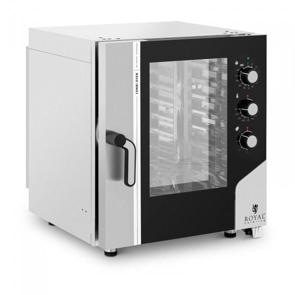 Heißluftofen - 10.400 W - Dampffunktion - 7 Einschübe GN 1/1