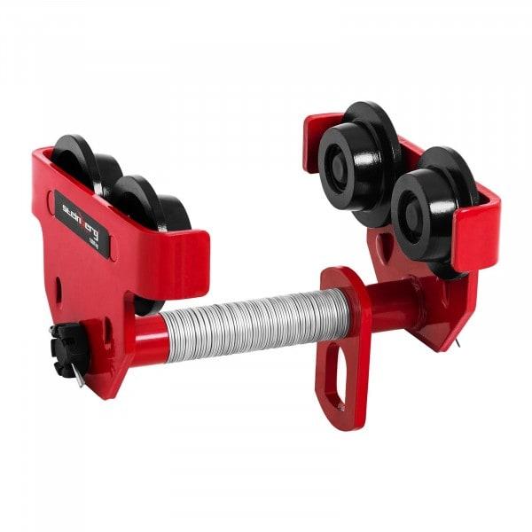 Rollfahrwerk - 1.000 kg - Flanschbereich 80 - 200 mm