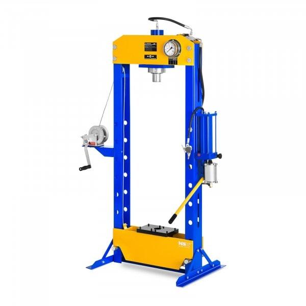 Werkstattpresse hydropneumatisch - 50 t Pressdruck