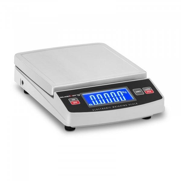 Digitale Tischwaage - 1.500 g / 0,2 g - 14,8 x 15,2 cm - LCD