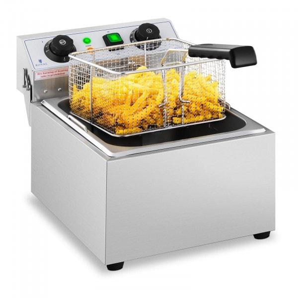 Elektro-Fritteuse - 10 Liter - Timer - 230 V