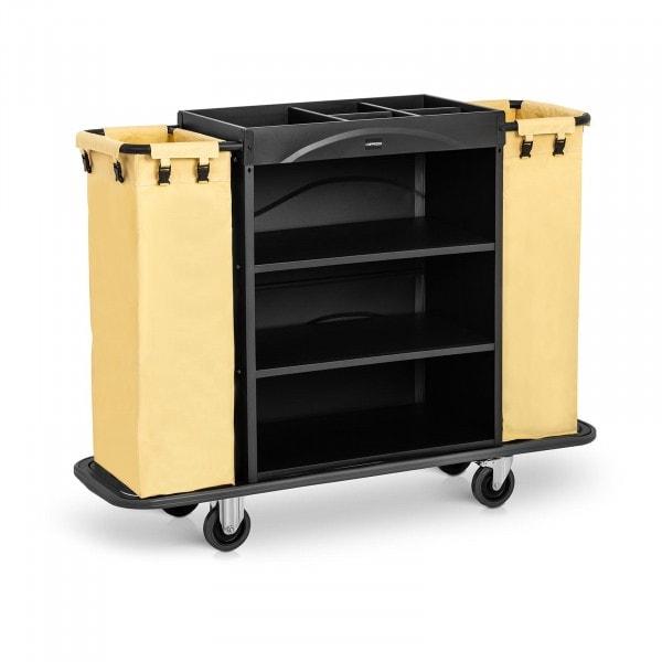 B-Ware Servicewagen Hotel -150 kg - 2 Wäschebeutel