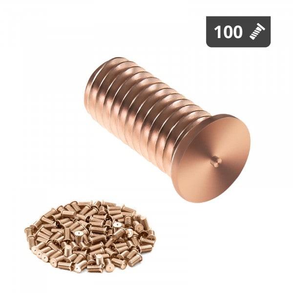 Schweißbolzen - M5 - 12 mm - Stahl - 100 Stück