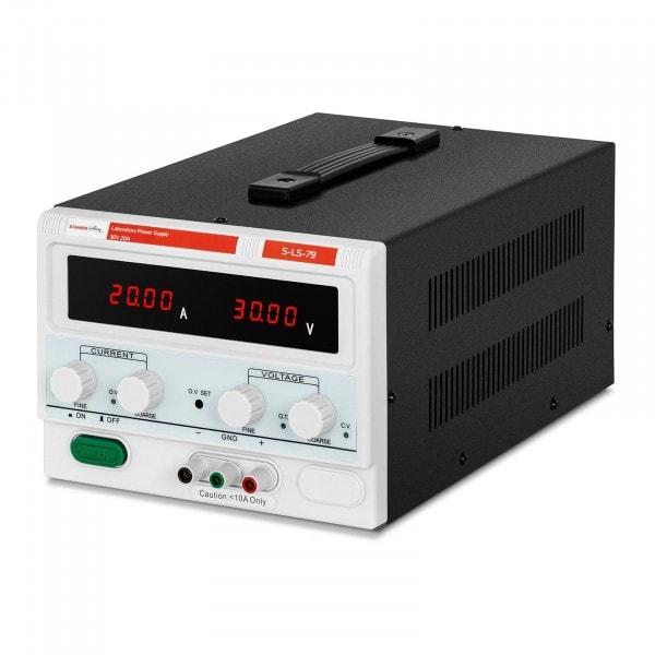 Labornetzgerät - 0-30 V - 0-20 A DC - 600 W