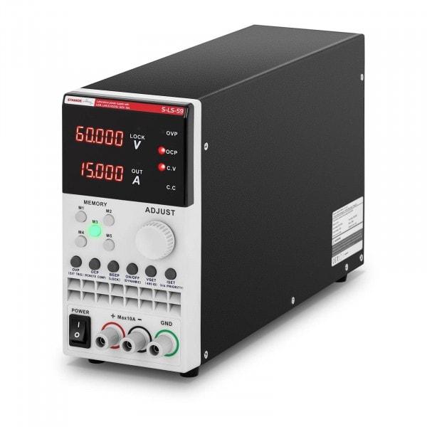 Labornetzgerät - 0-60 V - 0-15 A DC - 300 W - USB/LAN/RS232
