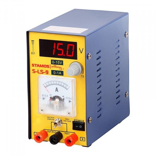 B-Ware Labornetzgerät 0-15 V , 0-1A DC