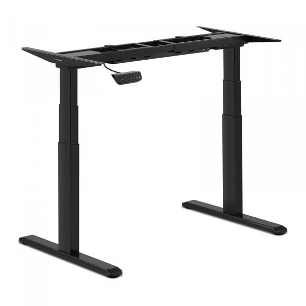 Höhenverstellbares Schreibtisch-Gestell - 200 W- 125 kg - Schwarz
