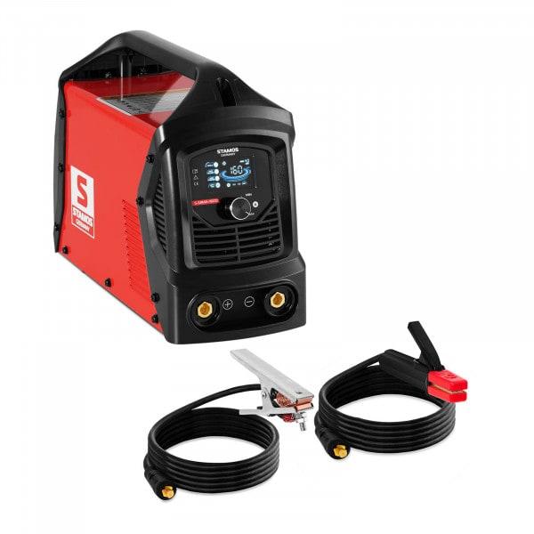 Elektroden Schweißgerät - 160 A - LCD - Hot Start- Arc Force - Griff