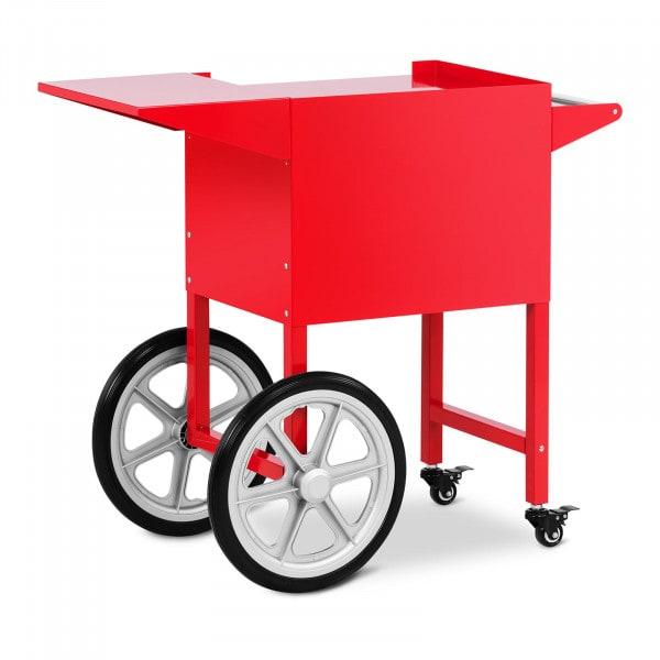 Wagen für Popcornmaschine - rot