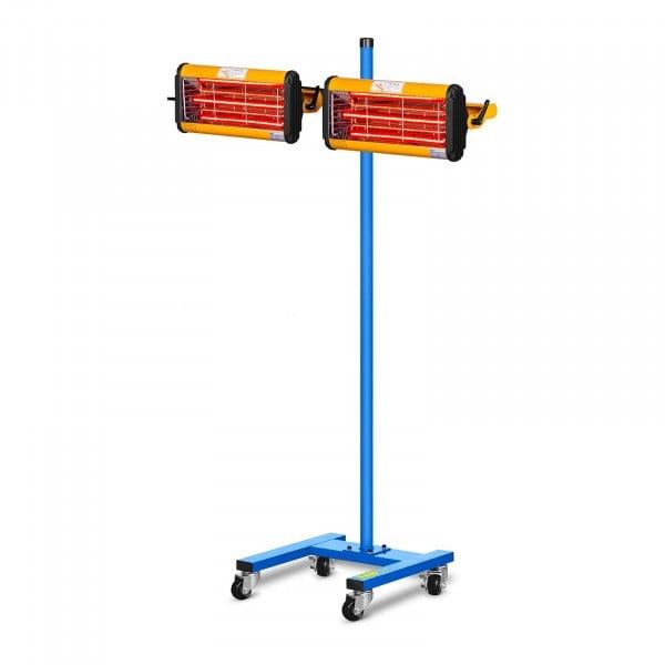 Infrarot-Lacktrockner - 2.200 W - 2 Strahler
