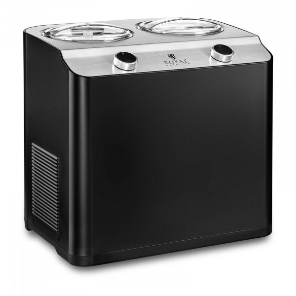 B-Ware Eismaschine - 250 W - 2 x 1,2 l