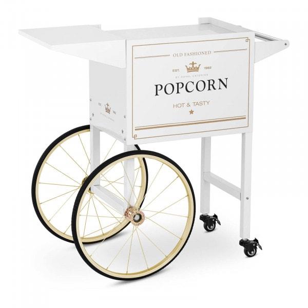 Wagen für Popcornmaschine - weiß & golden