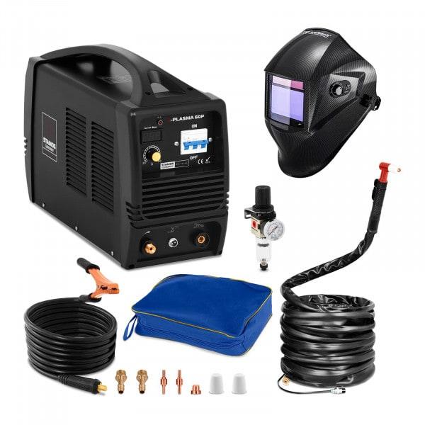 Schweißset Plasmaschneider - 60 A - 400 V + Schweißhelm – Carbonic
