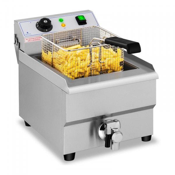 B-Ware Elektro-Fritteuse - 16 Liter - Ablasshahn - 230 V