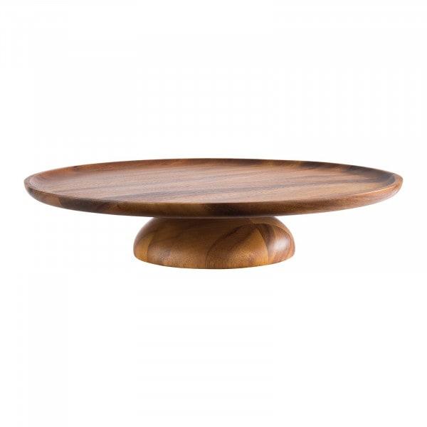 Tortenplatte - Akazienholz, geölt - Durchmesser: 38,5 cm - Höhe: 8 cm