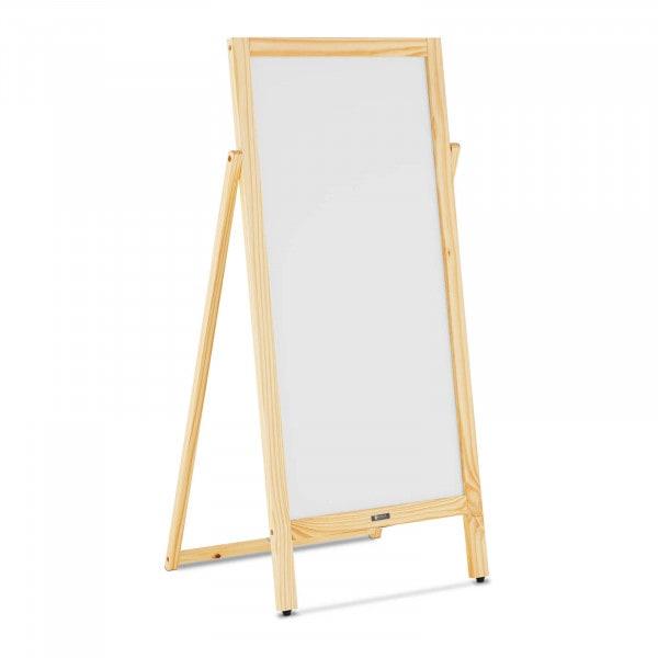 Kundenstopper - 450 mm x 900 mm - magnetisches & beschreibbares Whiteboard
