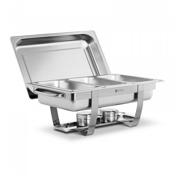 Chafing Dish - 3 x GN 1/3 - 7 L - 2 Brennstoffbehälter