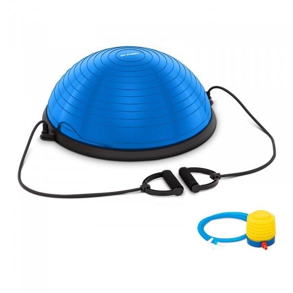 Balance Ball inkl. Gummibänder - 220 kg - blau
