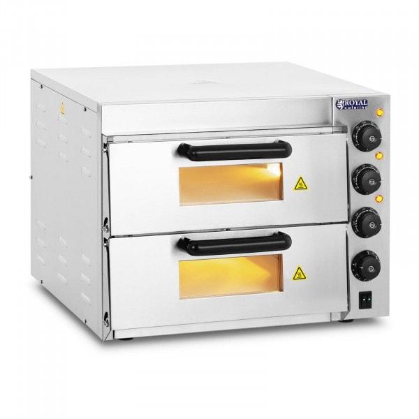 Pizzaofen - 2 Kammern - Schamotteboden
