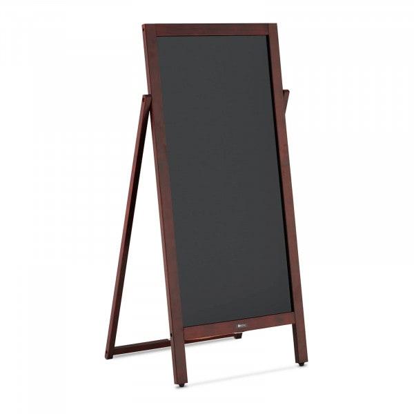 Kundenstopper - 450 mm x 830 mm - magnetische & beschreibbare Tafel
