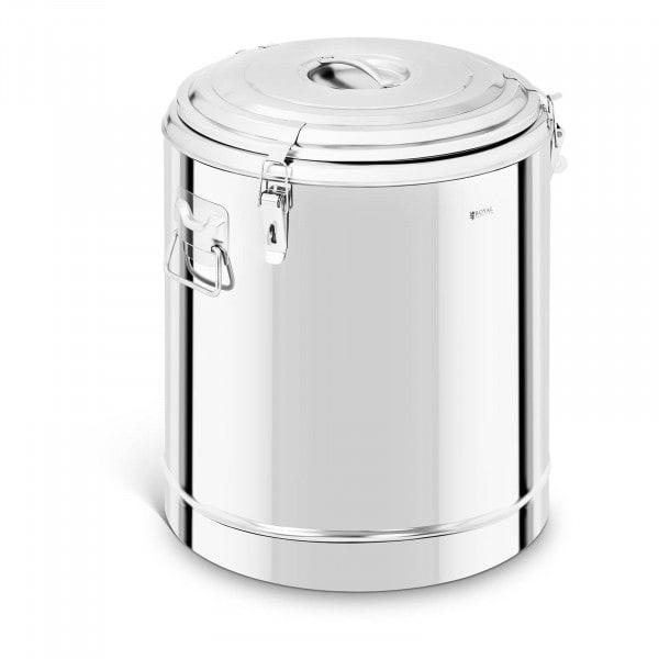 Thermobehälter Edelstahl - 60 L
