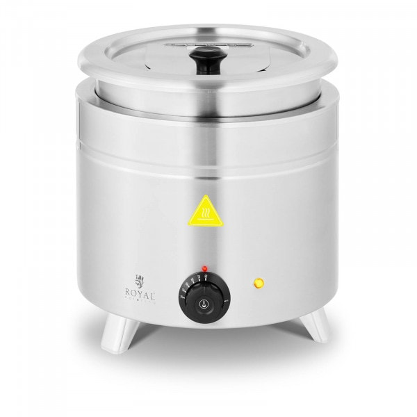 Suppentopf elektrisch - 11 L - Edelstahl