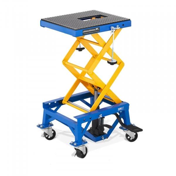 Scherenhebebühne mit Rollen - 150 kg