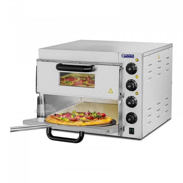 B-WARE Pizzaofen - 2 Kammern - Schamotteboden
