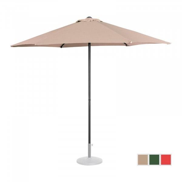 B-WARE Sonnenschirm groß - creme - sechseckig - Ø 270 cm
