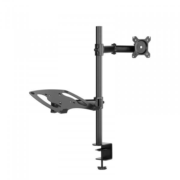 Monitorhalterung - Tischklemme - Kabelmanagement - Laptopablage