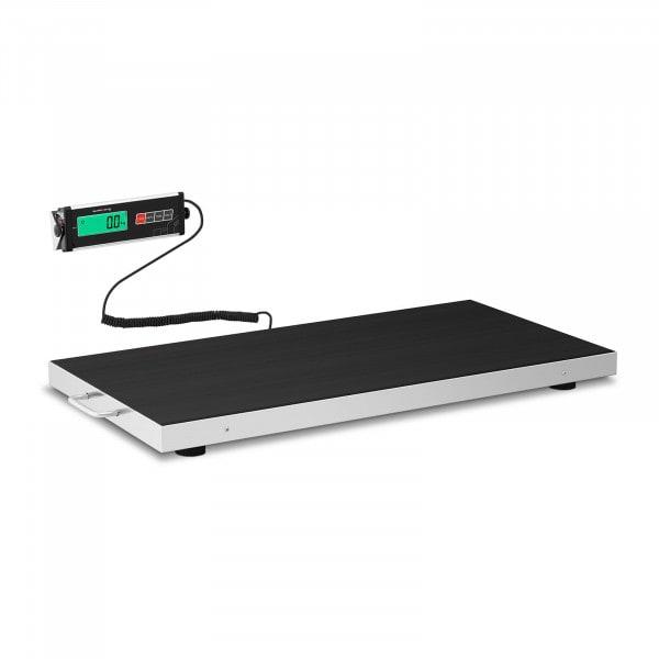 Bodenwaage - 300 kg / 100 g - Antirutschmatte - LCD