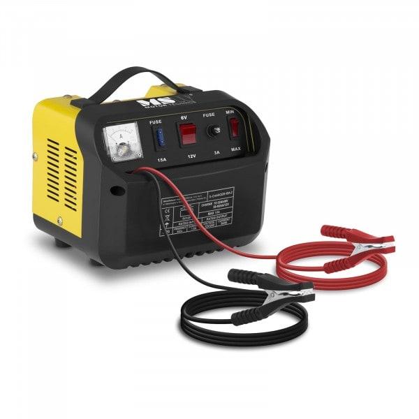B-WARE Autobatterie-Ladegerät - 6/12 V - 5/8 A - schräges Bedienfeld