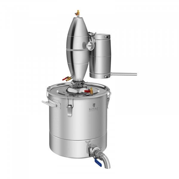 Destilliergerät - 4-Wege-Kühlung - Edelstahl - 30 L