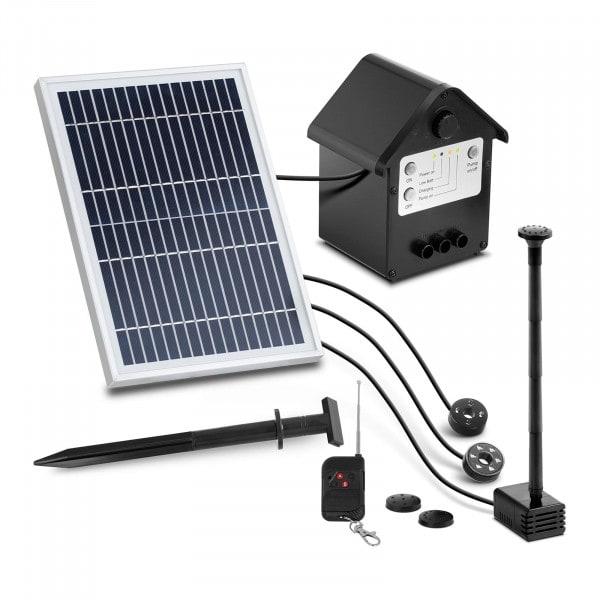 Solar-Springbrunnen - 250 l/h - LED - mit Fernbedienung