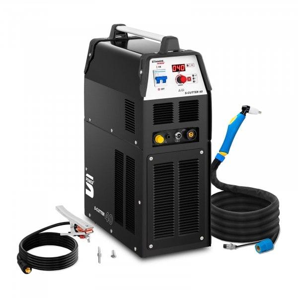 Plasmaschneider mit Kompressor- 40 A - ED 60 % - digital - 230 V