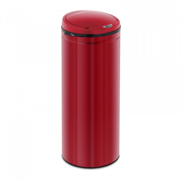 Sensor Abfalleimer - 50 L - rot - Inneneimer - Karbonstahl