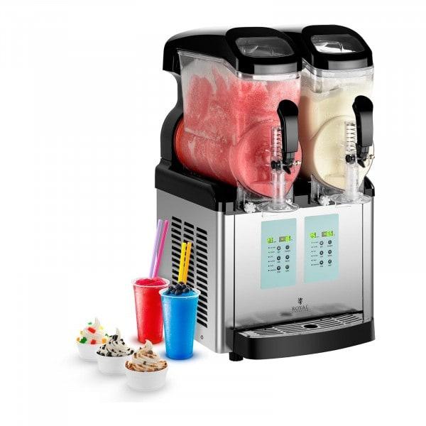 Slush-Maschine - 2 x 6 Liter - -20 °C Mindesttemperatur - Ice-Cream-Funktion