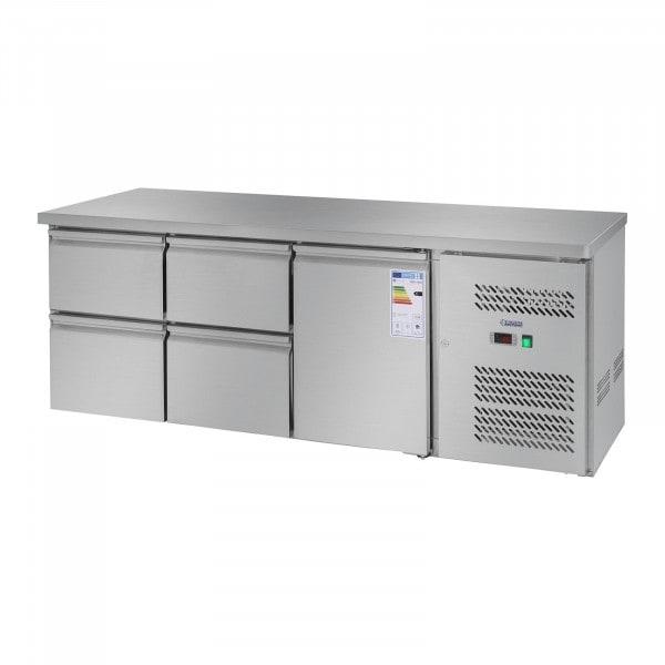 Kühltisch - 403 L - 1 Tür - 4 Schubladen