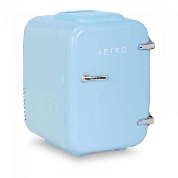 B-Ware Mini Kühlschrank - 4 L - blau